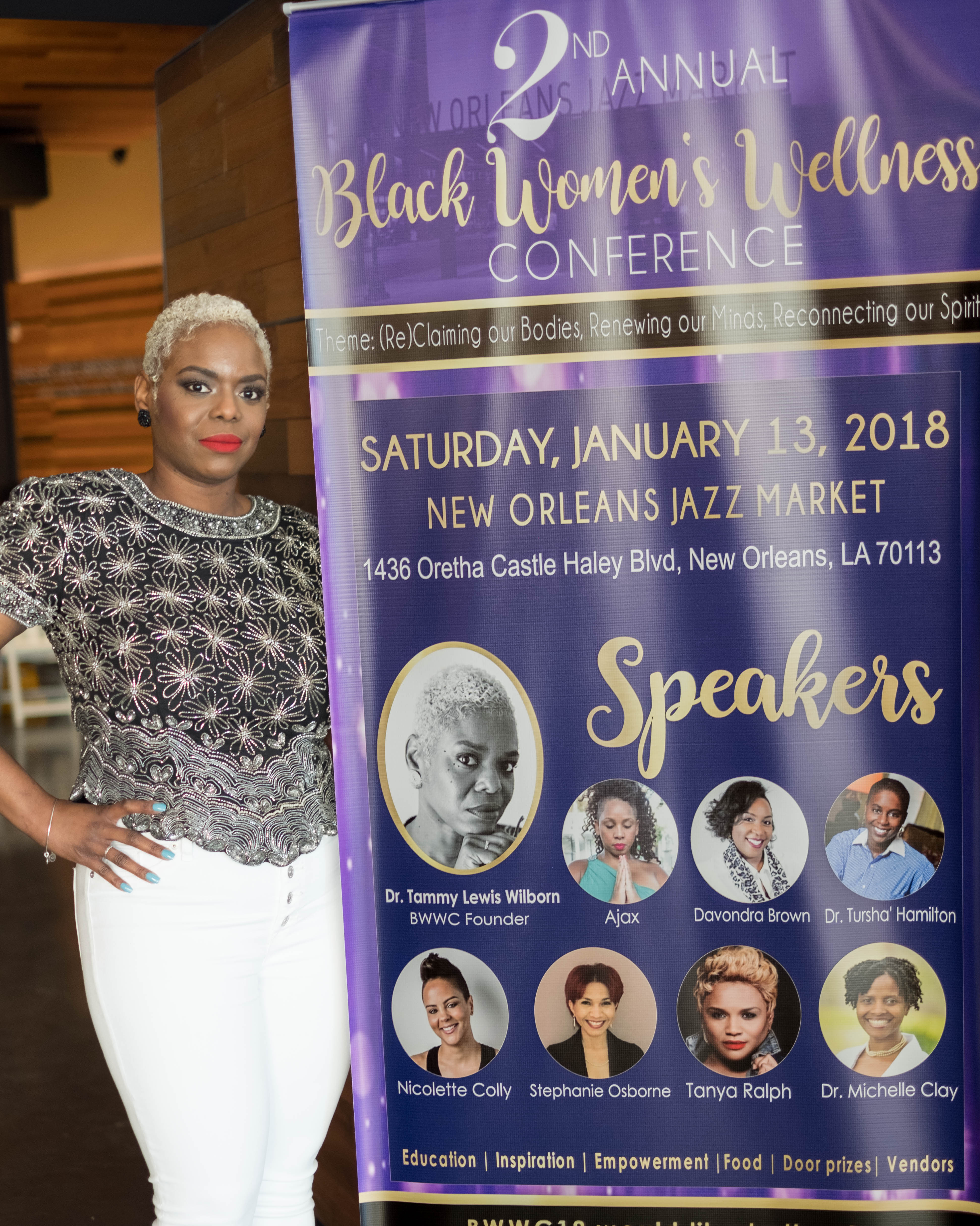 Dr. Tammy Lewis Wilborn | Black Women's Wellness Conference Of New Orleans™